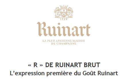 """Champagne Ruinart """"R"""""""
